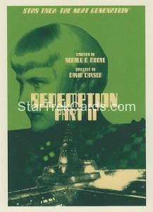 Star Trek The Next Generation Portfolio Prints Series One Trading Card 99