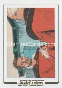 Star Trek The Next Generation Portfolio Prints Series One Trading Card AC01