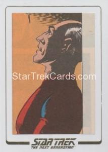 Star Trek The Next Generation Portfolio Prints Series One Trading Card AC09