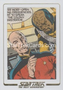 Star Trek The Next Generation Portfolio Prints Series One Trading Card AC11