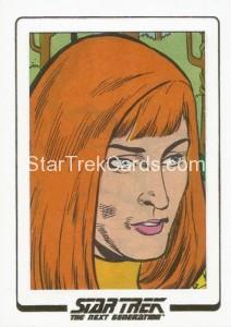 Star Trek The Next Generation Portfolio Prints Series One Trading Card AC19