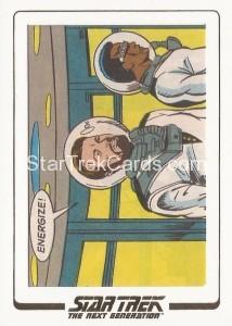 Star Trek The Next Generation Portfolio Prints Series One Trading Card AC25