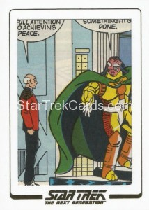 Star Trek The Next Generation Portfolio Prints Series One Trading Card AC351