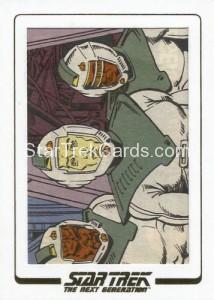 Star Trek The Next Generation Portfolio Prints Series One Trading Card AC41