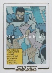 Star Trek The Next Generation Portfolio Prints Series One Trading Card AC47