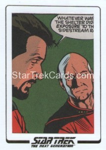 Star Trek The Next Generation Portfolio Prints Series One Trading Card AC51