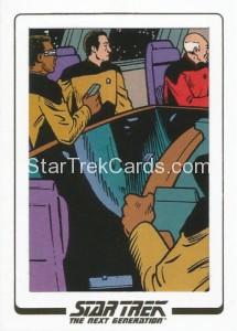 Star Trek The Next Generation Portfolio Prints Series One Trading Card AC71