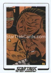 Star Trek The Next Generation Portfolio Prints Series One Trading Card AC73