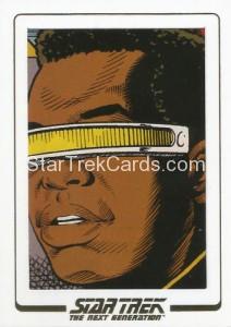 Star Trek The Next Generation Portfolio Prints Series One Trading Card AC77