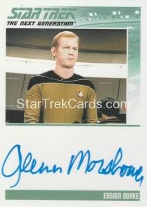 Star Trek The Next Generation Portfolio Prints Series One Trading Card Autograph Glenn Morshower