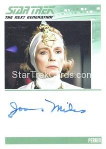 Star Trek The Next Generation Portfolio Prints Series One Trading Card Autograph Joanna Miles