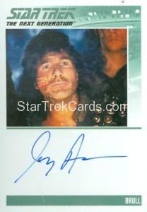 Star Trek The Next Generation Portfolio Prints Series One Trading Card Autograph Joey Aresco