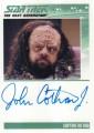 Star Trek The Next Generation Portfolio Prints Series One Trading Card Autograph John Cothran Jr
