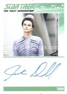 Star Trek The Next Generation Portfolio Prints Series One Trading Card Autograph Juliana Donald