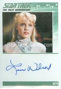 Star Trek The Next Generation Portfolio Prints Series One Trading Card Autograph Lisa Wilcox
