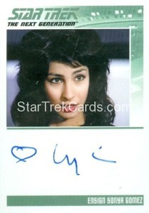 Star Trek The Next Generation Portfolio Prints Series One Trading Card Autograph Lycia Naff