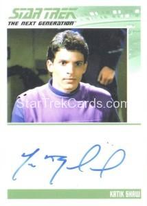 Star Trek The Next Generation Portfolio Prints Series One Trading Card Autograph Marc Buckland