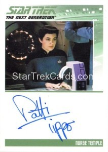 Star Trek The Next Generation Portfolio Prints Series One Trading Card Autograph Patti Tippo