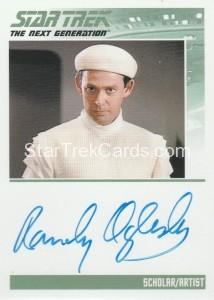 Star Trek The Next Generation Portfolio Prints Series One Trading Card Autograph Randy Oglesby