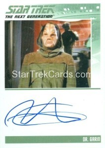 Star Trek The Next Generation Portfolio Prints Series One Trading Card Autograph Richard Cansino