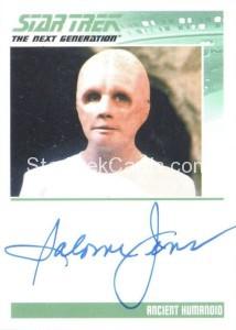 Star Trek The Next Generation Portfolio Prints Series One Trading Card Autograph Salome Jens