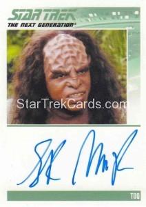 Star Trek The Next Generation Portfolio Prints Series One Trading Card Autograph Sterling Macer Jr