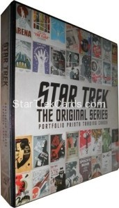 Star Trek The Next Generation Portfolio Prints Series One Trading Card Binder Alternate