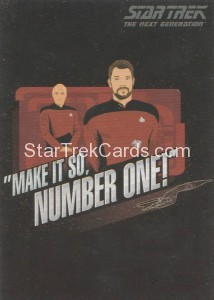 Star Trek The Next Generation Portfolio Prints Series One Trading Card CT1