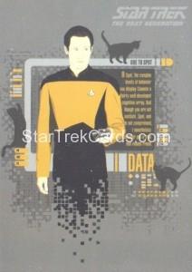 Star Trek The Next Generation Portfolio Prints Series One Trading Card CT3