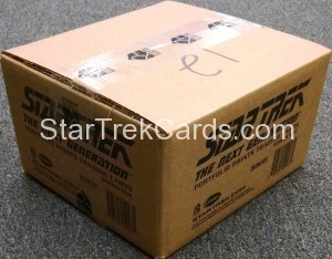 Star Trek The Next Generation Portfolio Prints Series One Trading Card Case