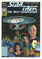 Star Trek The Next Generation Portfolio Prints Series One Trading Card Comic 01