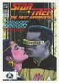 Star Trek The Next Generation Portfolio Prints Series One Trading Card Comic 05
