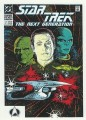 Star Trek The Next Generation Portfolio Prints Series One Trading Card Comic 07