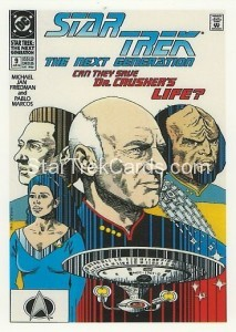Star Trek The Next Generation Portfolio Prints Series One Trading Card Comic 09