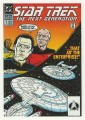 Star Trek The Next Generation Portfolio Prints Series One Trading Card Comic 11