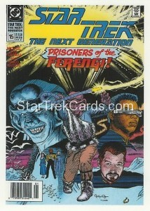 Star Trek The Next Generation Portfolio Prints Series One Trading Card Comic 15