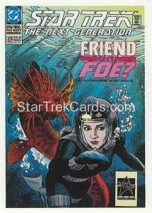 Star Trek The Next Generation Portfolio Prints Series One Trading Card Comic 23