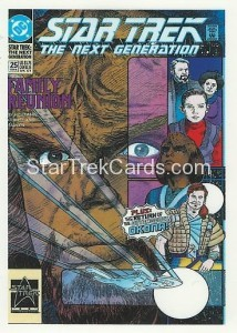 Star Trek The Next Generation Portfolio Prints Series One Trading Card Comic 25