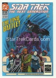 Star Trek The Next Generation Portfolio Prints Series One Trading Card Comic 27
