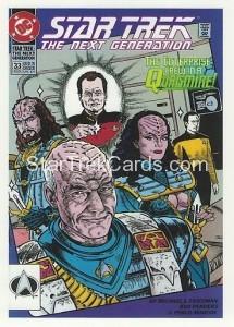Star Trek The Next Generation Portfolio Prints Series One Trading Card Comic 33