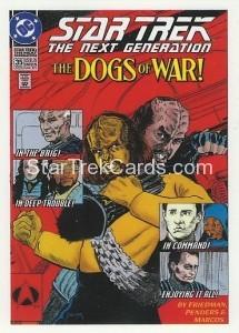 Star Trek The Next Generation Portfolio Prints Series One Trading Card Comic 35
