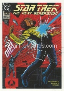 Star Trek The Next Generation Portfolio Prints Series One Trading Card Comic 43
