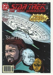 Star Trek The Next Generation Portfolio Prints Series One Trading Card Comic 45