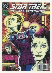 Star Trek The Next Generation Portfolio Prints Series One Trading Card Comic 47