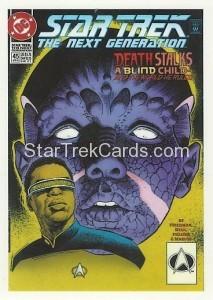 Star Trek The Next Generation Portfolio Prints Series One Trading Card Comic 49