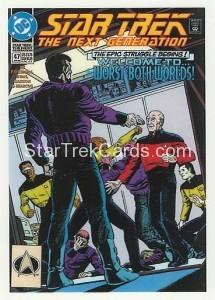 Star Trek The Next Generation Portfolio Prints Series One Trading Card Comic 51
