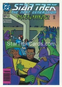 Star Trek The Next Generation Portfolio Prints Series One Trading Card Comic 57