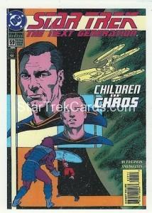 Star Trek The Next Generation Portfolio Prints Series One Trading Card Comic 59