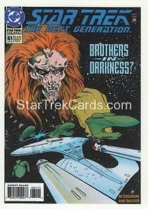 Star Trek The Next Generation Portfolio Prints Series One Trading Card Comic 61
