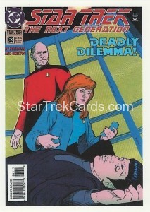 Star Trek The Next Generation Portfolio Prints Series One Trading Card Comic 63